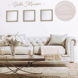 Belle Madison 3 Piece Mirror Set
